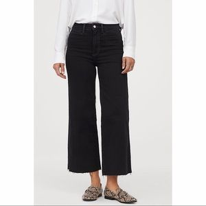 H&M   Culotte High Ankle Jeans   Size 4
